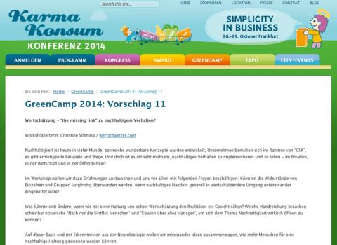 Open-Space-Workshop 28.10.14 Greencamp Karma Konsum Kongress
