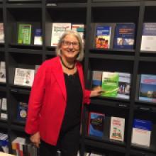 Gertraud Wegst als Autorin auf der Buchmesse in Frankfurt